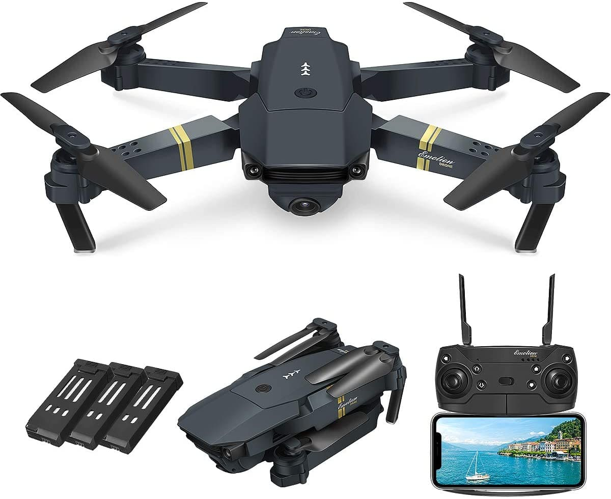 What are the distinguished features of QuadAir's Drone
